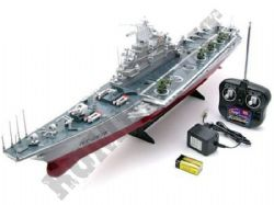 Radio Control Boat Navy Aircraft Carrier 1:275 Scale Replica RC Model HT2878F